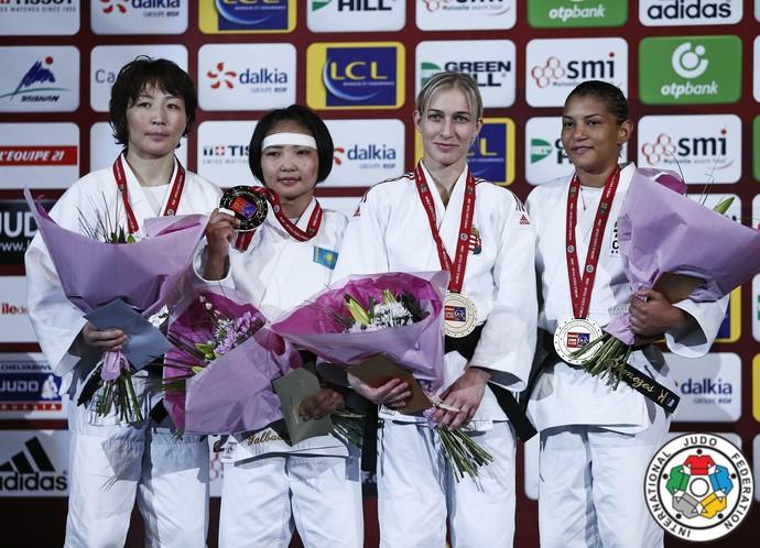 Sarah Menezes bronze Grand Slam de judô de Paris (Foto: © IJF Media by G. Sabau)