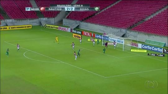 Gols Tocantinenses: Jarlan marca na vitória do Goiás sobre o Náutico, pela Série B