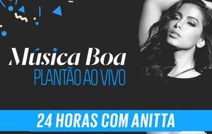 Plantão Anitta 24h: Acompanhe o dia da cantora na estreia da 4ª temporada do Música Boa Ao Vivo