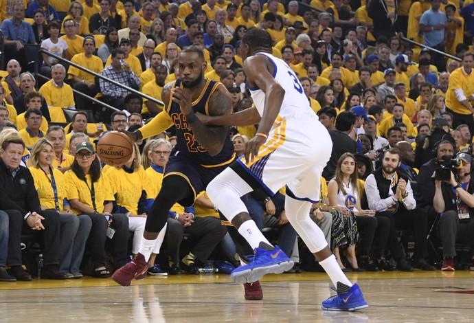 LeBron James Kevin Durant Cavs Warriors (Foto: Kyle Terada / USA Today Sports / Reuters)