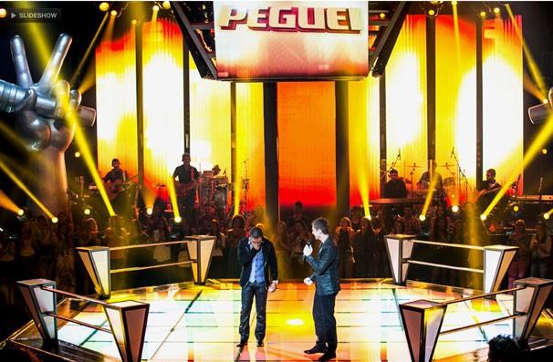 """Daniel usou o seu """"Peguei"""" e Herli Dias segue no The Voice (Foto: Isabella Pinheiro/TV Globo)"""
