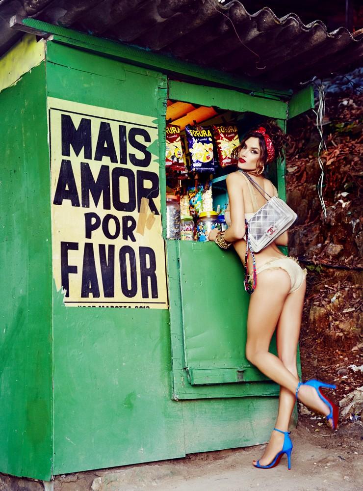 Alessandra Ambrosio (Foto: Ellen von Unwerth)