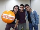 Juntos pela primeira vez na TV, irmãos atores se divertem nos bastidores