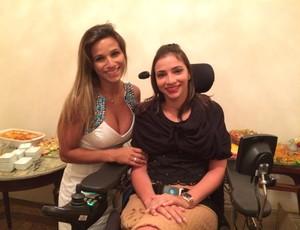 Jade Barbosa e Lais Souza, prêmio Brasil Olímpico (Foto: Gabriel Fricke)