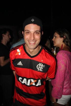 Marco Antônio Gimenez em boate na Zona Sul do Rio (Foto: Anderson Borde/ Ag. News)