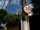Projeto estabelece velocidade de 30 km/h dentro dos bairros de Vitória