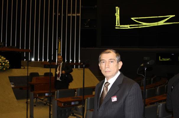 Diretor-geral da TV Clube participa de homenagem à Rede Globo na Câmara dos Deputados, em Brasília.  (Foto: TV Clube)
