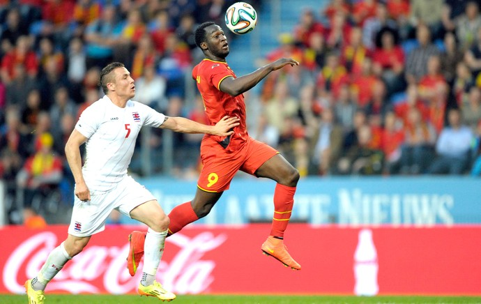 Lukaku Bélgica contra Luxemburgo (Foto: Agência Reuters)