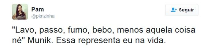 tweet munik (Foto: Reprodução/Internet)