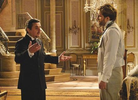 Edgar deixa a prisão e pede perdão a Bonifácio por traição