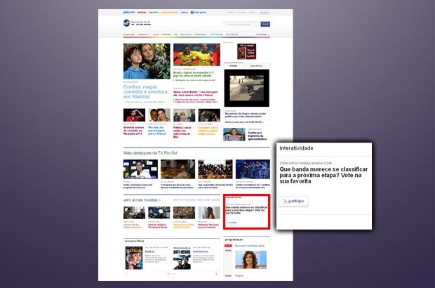 minha banda.com: Passo-a-passo votação (2) (Foto: divulgação)