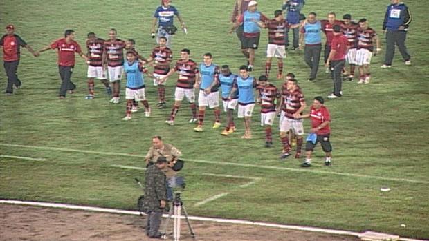 Campinense eliminado (Foto: Reprodução / TV Paraíba)