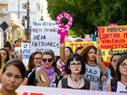 'Marcha das Mulheres' sai em defesa de igualdade de direitos em Santarém