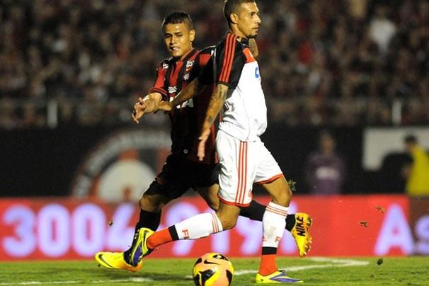 Flamengo x Atlético (Foto: André Durão)