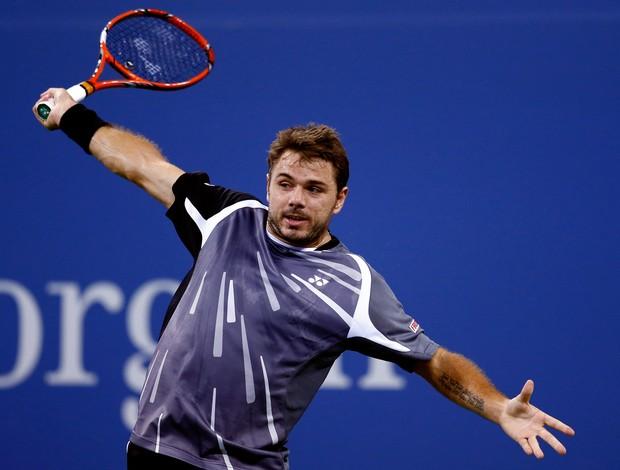 Thomaz Bellucci x Stanislas Wawrinka US Open tênis (Foto: AFP)