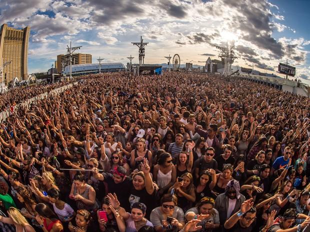 ROCK IN RIO USA: Público acompanha último dia do evento em Las Vegas (Foto: Divulgação)