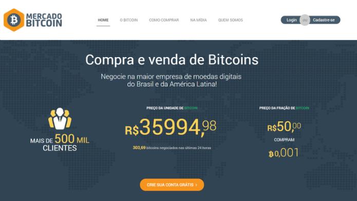 Para investir no mercado de bitcoins, você precisa de uma carteira. Existem sites especializados que hospedam a sua de forma gratuita (Foto: Reprodução/Filipe Garrett)