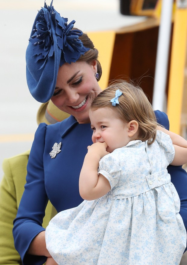 Kate Middleton e Charlotte (Foto: Getty Images)