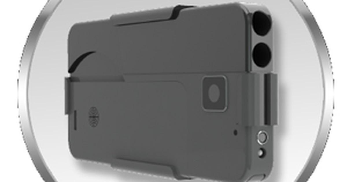 c854eb5b645 G1 - Pistola em forma de smartphone chega em breve aos Estados Unidos -  notícias em Tecnologia e Games