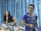 'Nessa hora você tem que ser garanhão', pede bailarina para Di Rizzi