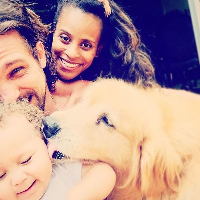 Ô família bonita! (Foto: Reprodução/Instagram)