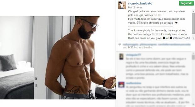 Ricardo Barbato (Foto: Instagram / Reprodução)