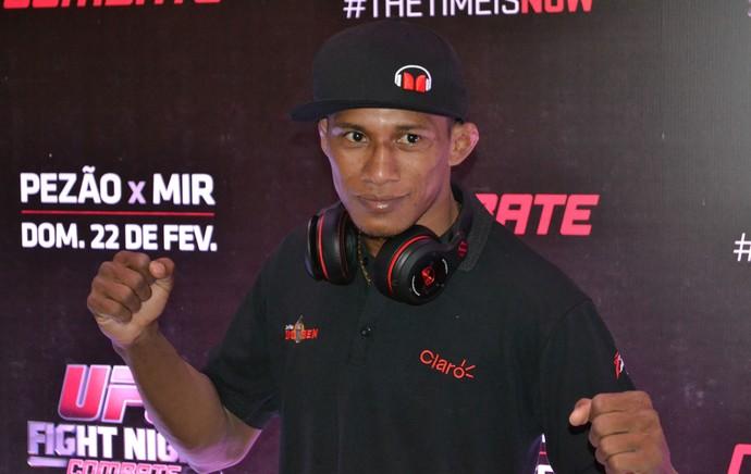 Iuri Marajó, MMA UFC (Foto: Marcelo Barone)