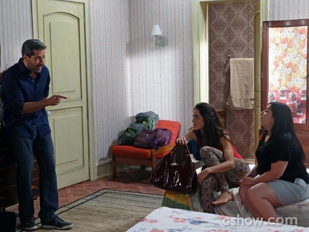 Cacá convida Selma e Rita para protagonizar novos webvídeos (Foto: Além do Horizonte/TV Globo)