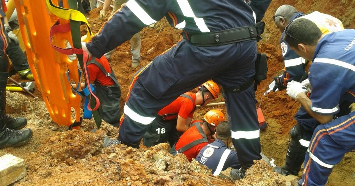 Acidentes de trabalho deixam uma vítima e um ferido em 2 cidades ... - Globo.com