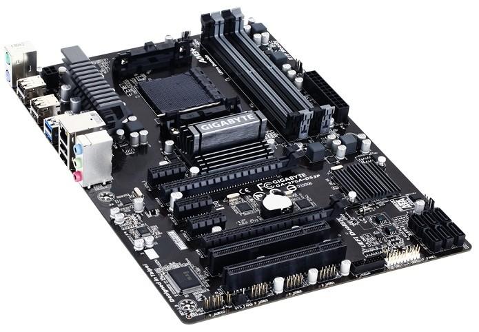 Gigabyte GA-970A-DS3P é preparada para overclock (Foto: Divulgação/Gigabyte)