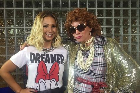 Valesca Popozuda e Suzana Pires (Foto: Divulgação)