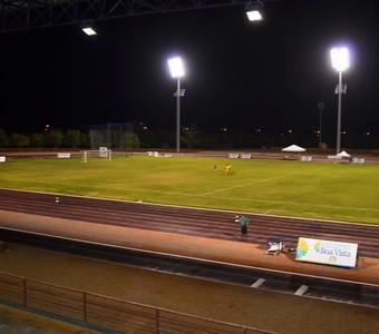 Campo da Vila Olímpica Roberto Marinho (Foto: Ivonisio Júnior)