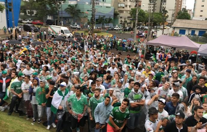 Arena Condá Chapecoense (Foto: Amanda Kestelman)