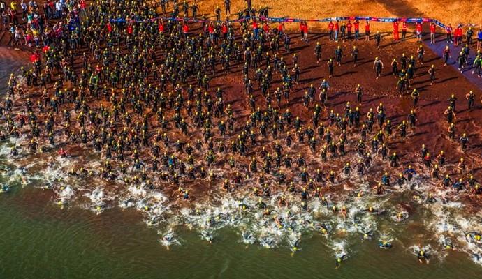 Ironman 70.3 Brasil Paraguai (Foto: Fábio Falconi)