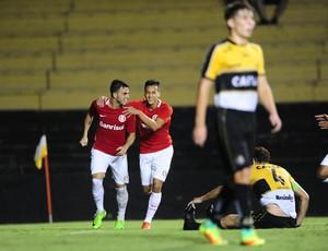 Criciuma x Inter Heriberto Hulse Primeira Liga gol Andrigo