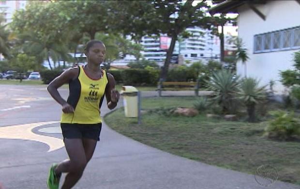 Adriana Lopes- atletismo (Foto: Reprodução/TV Sergipe)