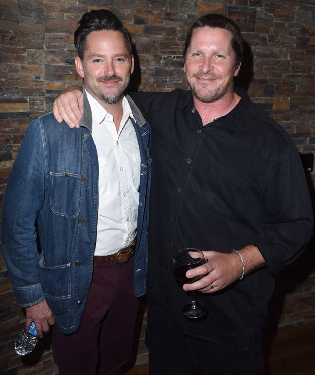 Scott Cooper e Christian Bale (Foto: Getty Images)