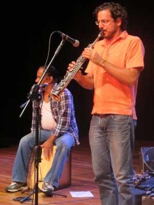 Luiz Carlos De Paula e Dado. (Foto: Elaine Almeida / G1)