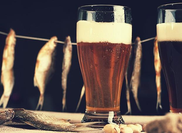 Tempurá de peixe com cerveja  (Foto: ThinkStockPhotos)