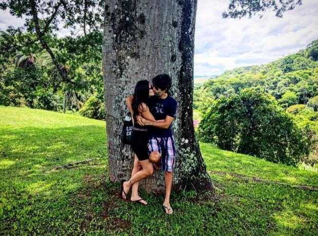 Carol Castro e Felipe Prazeres (Foto: Reprodução/Instagram)