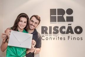 Convite de Casamento Mariana Felício e Daniel Saullo (Foto: Divulgação)