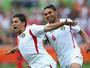 Al-Dardour marca quatro, e Jordânia goleia a Palestina, que faz gol histórico