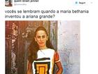Oi? Post que compara Maria Bethânia jovem a Ariana Grande bomba na web