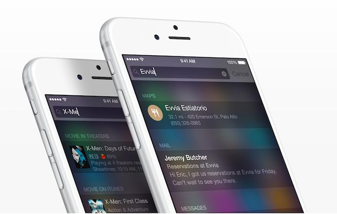 Como determinar os parâmetros de busca do Spotlight do iOS? (Foto: Divulgação/Apple)