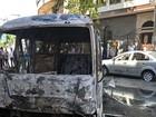 Atentado contra posto policial deixa mortos em Damasco