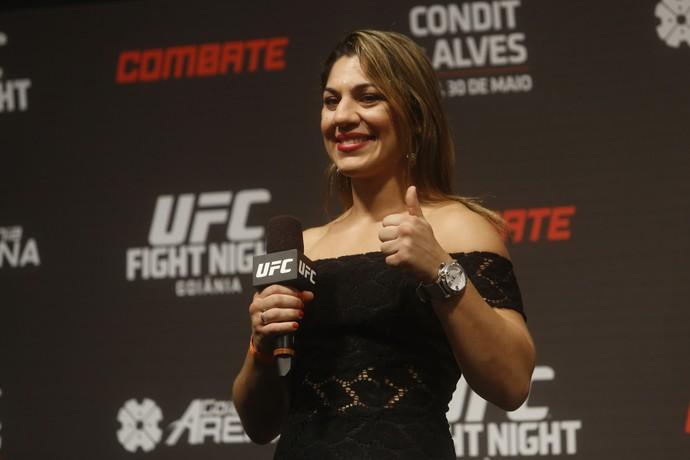 Bethe Correia UFC Goiânia 2 (Foto: William Lucas / Inovafoto)