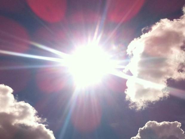 ´Sol quente neste início de semana em Campo Grande (Foto: Luan Saraiva/ G1 MS)