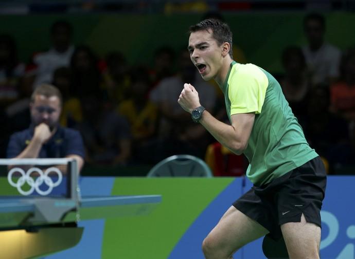 Hugo Calderano (Foto: Reuters)