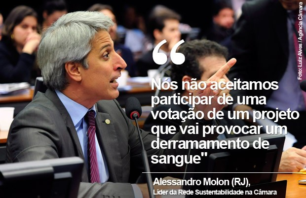 Card líder da Rede na Câmara, Alessandro Molon (Foto: Luiz Alves / Agência Câmara)