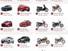 Veja 10 carros e 10 motos mais vendidos em 2012